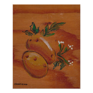 Kitchen Decor Collection - Potatoes Poster