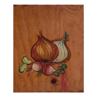 Kitchen Decor Collection - Vegetables Poster