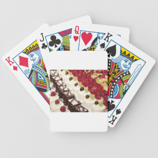 Kitchen Dining Cakes Colorful Photograph Destiny Deck Of Cards