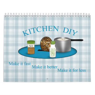 Do it yourself calendars zazzle kitchen do it yourself cooking is easy cheap calendar solutioingenieria Images