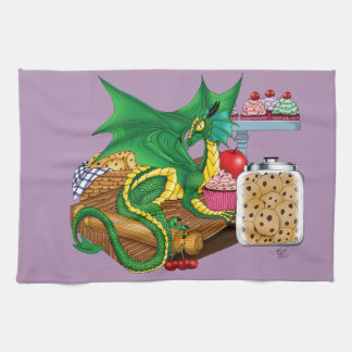Kitchen Dragon Hand Towel
