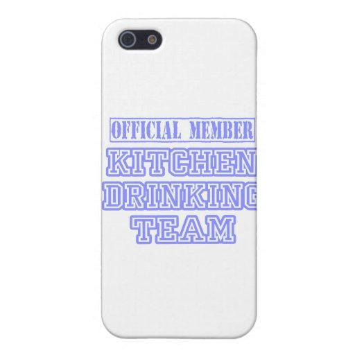 Kitchen Drinking Team iPhone 5/5S Cover