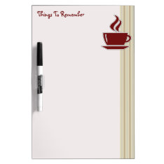 Kitchen Dry Erase Message Boards Dry-Erase Board at Zazzle