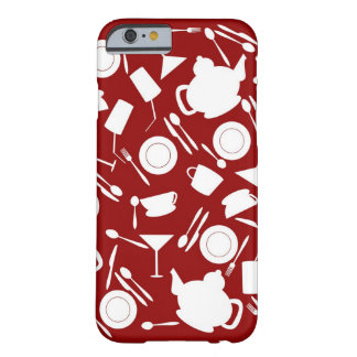 Kitchen Elements Pattern Barely There iPhone 6 Case