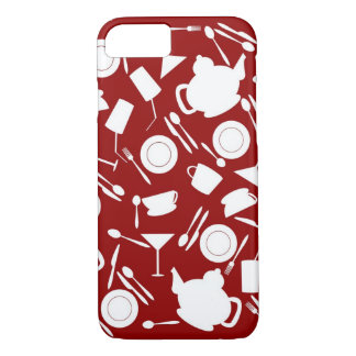 Kitchen Elements Pattern iPhone 8/7 Case