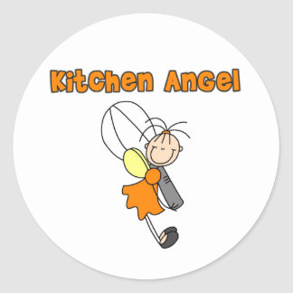 Kitchen Fairy Angel Sticker
