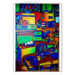 Kitchen Fantasy by Piliero Greeting Cards