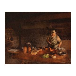 Kitchen - Farm cooking Cork Paper Print
