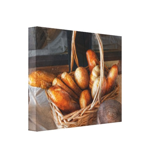 Kitchen - Food - Bread - Fresh bread Canvas Print