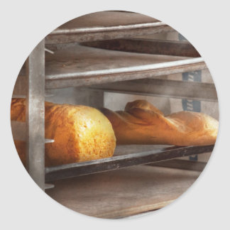 Kitchen - Food - Bread - Freshly baked bread Classic Round Sticker