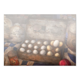 Kitchen - Food - Eggs - 18 eggs 5x7 Paper Invitation Card