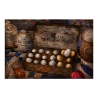 Kitchen - Food - Eggs - 18 eggs Poster