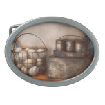 Kitchen - Food - Eggs - Fresh this morning Oval Belt Buckle