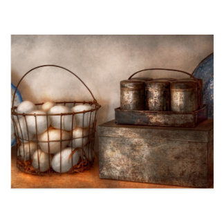 Kitchen - Food - Eggs - Fresh this morning Postcard