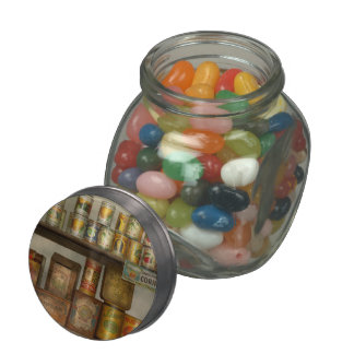 Kitchen - Food - Side dishes Glass Candy Jar