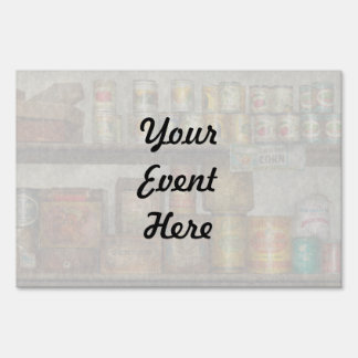 Kitchen - Food - Side dishes Lawn Sign