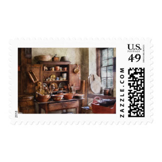 Kitchen - For the Master Chef Postage Stamp
