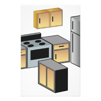 Kitchen Furniture and Appliances Stationery