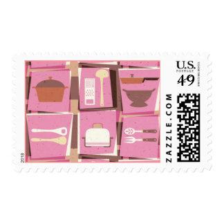 Kitchen Gadgets - Pink Postage