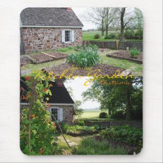 Kitchen Garden: Spring, Autumn Mouse Pad
