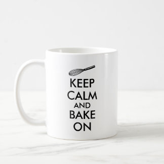 Kitchen Gifts Keep Calm and Bake On Mug for Bakers