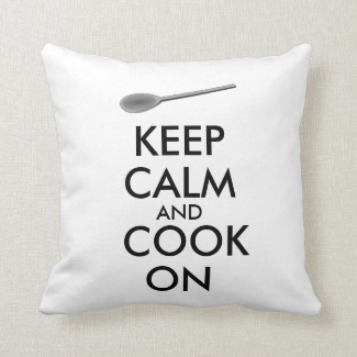 Kitchen Gifts Keep Calm and Cook On Spoon
