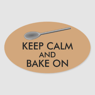 Kitchen Gifts Keep Calm and Cook On Spoon Stickers