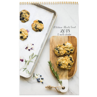 Kitchen Heals Soul 2018 calendar LARGE