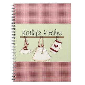 Kitchen Hearts Notebook