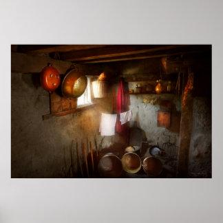 Kitchen - Homesteading life Poster