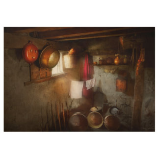 Kitchen - Homesteading life Wood Poster