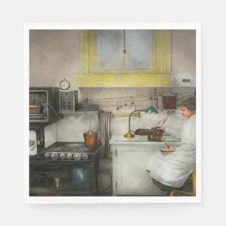 Kitchen - How I bake bread 1923 Paper Napkin
