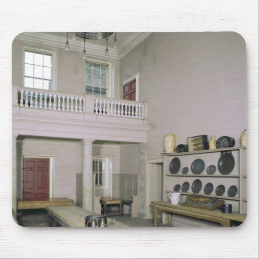 Kitchen Interior mid 18th century Mousepad