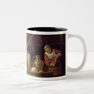 Kitchen Interior Two-Tone Coffee Mug