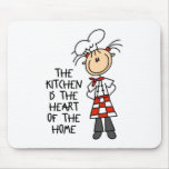 Kitchen Is The Heart Mousepad