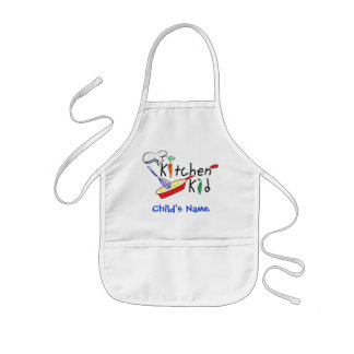 Kitchen Kid Personalized Apron