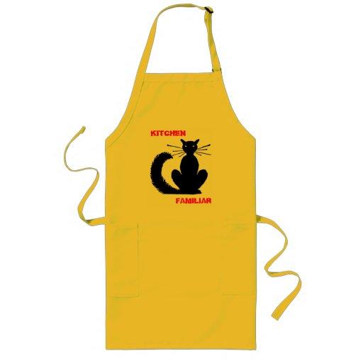 Kitchen Kitty Long Apron