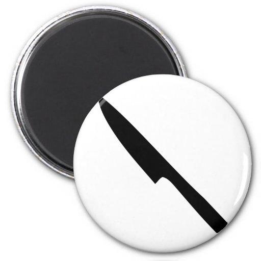 kitchen knife 2 inch round magnet