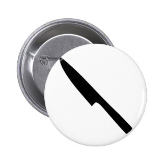 kitchen knife pinback button