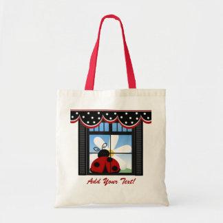 Kitchen Ladybug Tote - SRF Tote Bags