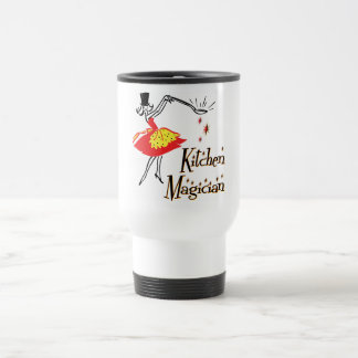 Kitchen Magician Cooking Saying Customizable Mug