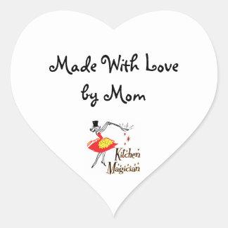 Kitchen Magician Custom Retro Mom Sticker