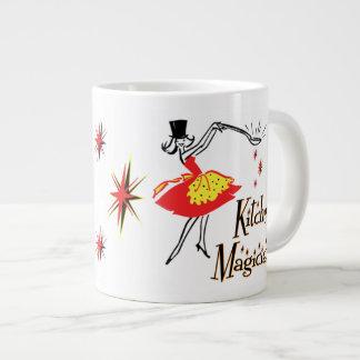 Kitchen Magician Retro Art Jumbo Mug