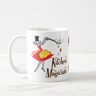 Kitchen Magician Retro Cooking Art Mug