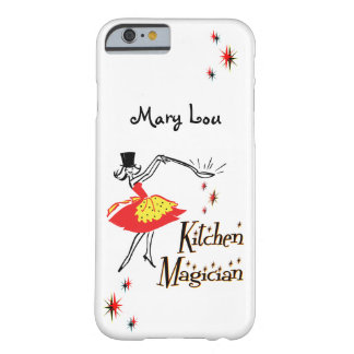 Kitchen Magician Retro Custom iPhone Case Barely There iPhone 6 Case
