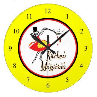Kitchen Magician Retro Wall Clock