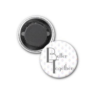 Kitchen Magnet   Better Together Photo Holder