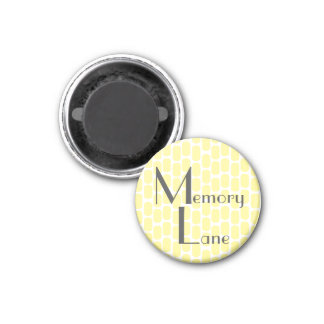 Kitchen Magnet | Yellow Memory Lane Photo Holder