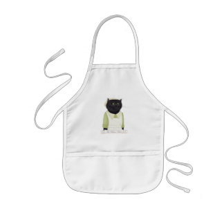 Kitchen Maid Cat Kids Apron