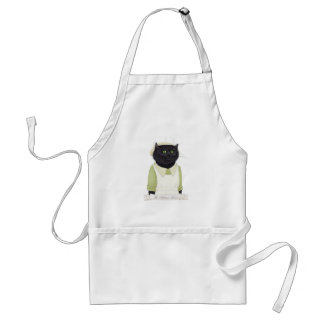 Kitchen Maid Cat Standard Apron